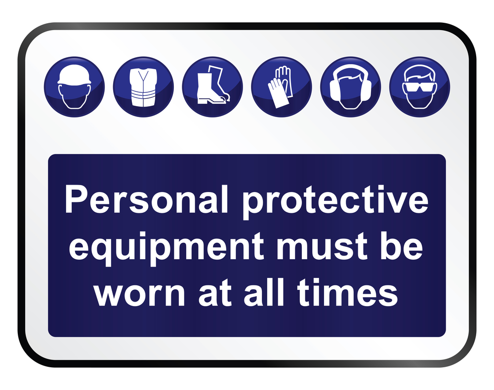 Risk at Work - Personal protective equipment (PPE)