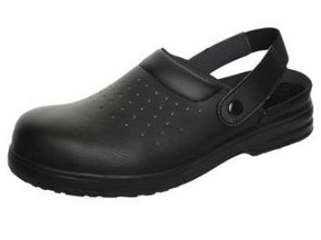 Comfort Grip Sandal Perforated Washable