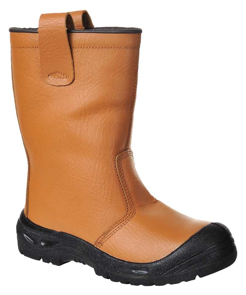 tan rigger boot