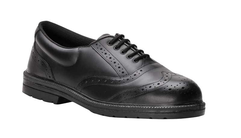 steel capped Executive Brogue