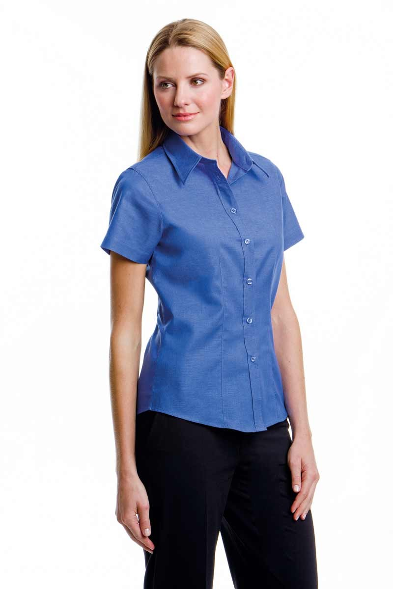 Workplace S/S Oxford Blouse