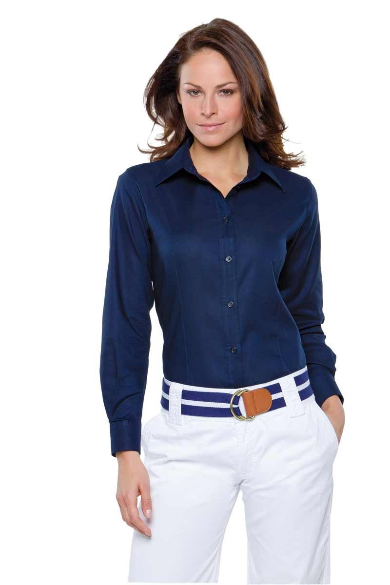 Workplace L/S Oxford Blouse