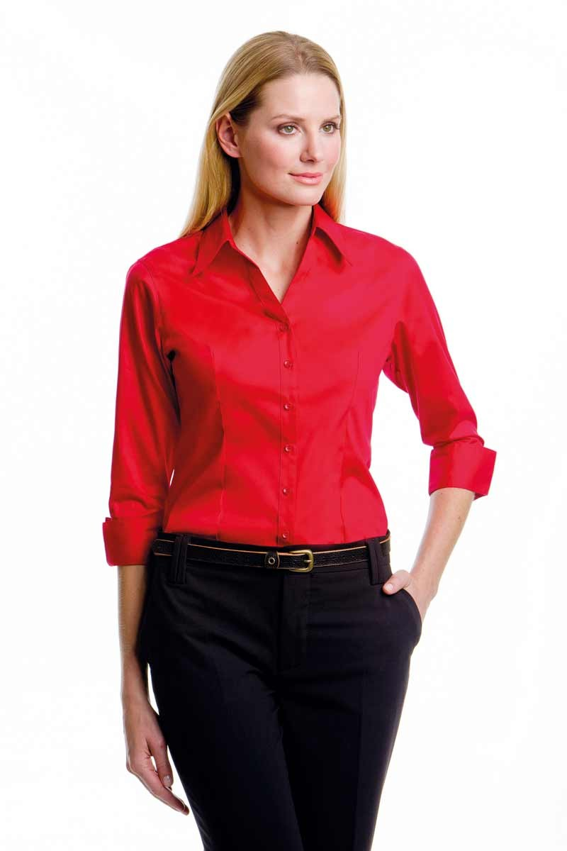 corporate 3/4 sleeved blouse