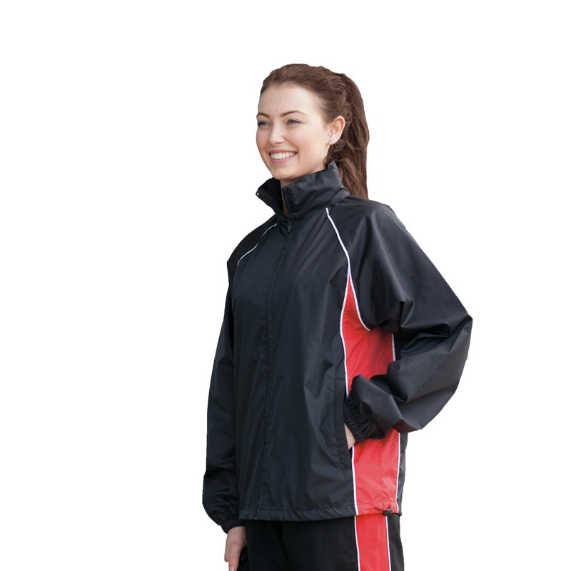 enior Piped Showerproof Training Jacket