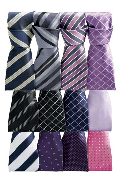 Squares Patterened Tie selection