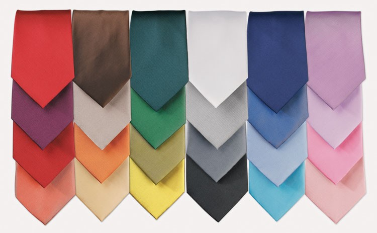 Fashion Tie colours