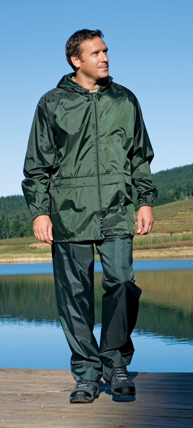 Green Stormbreak Jacket