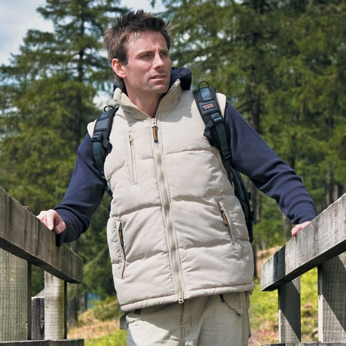 Hooded Micro Bodywarmer