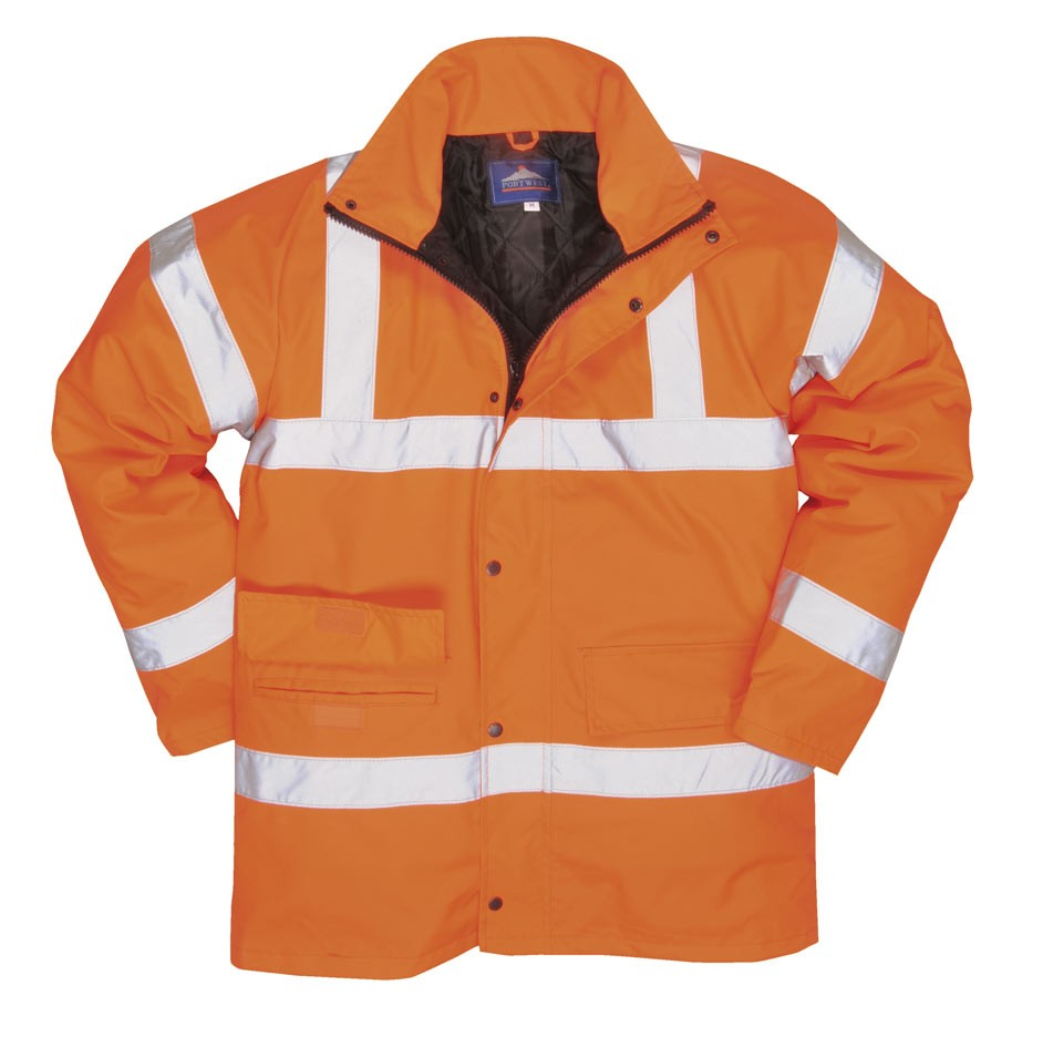 Hi-Vis Rail Traffic Jacket
