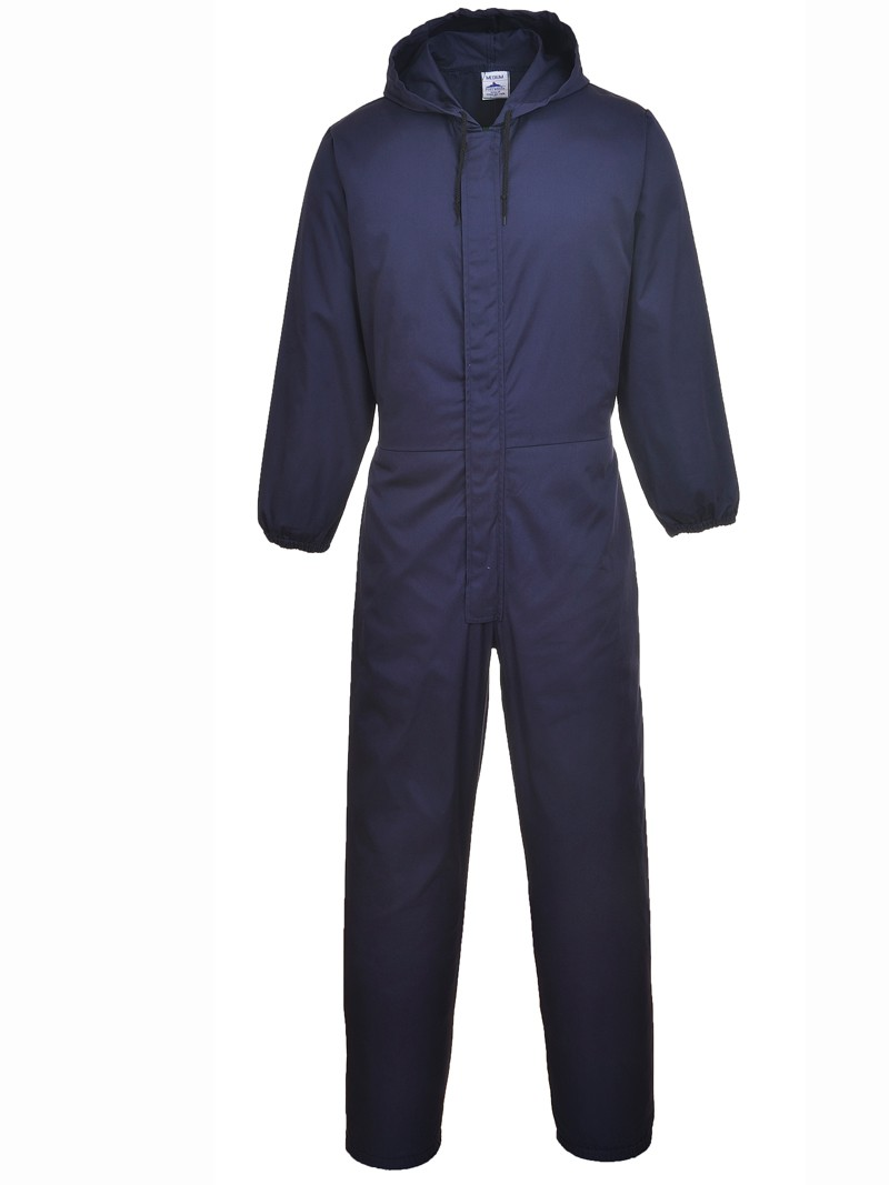 Hooded spray coverall