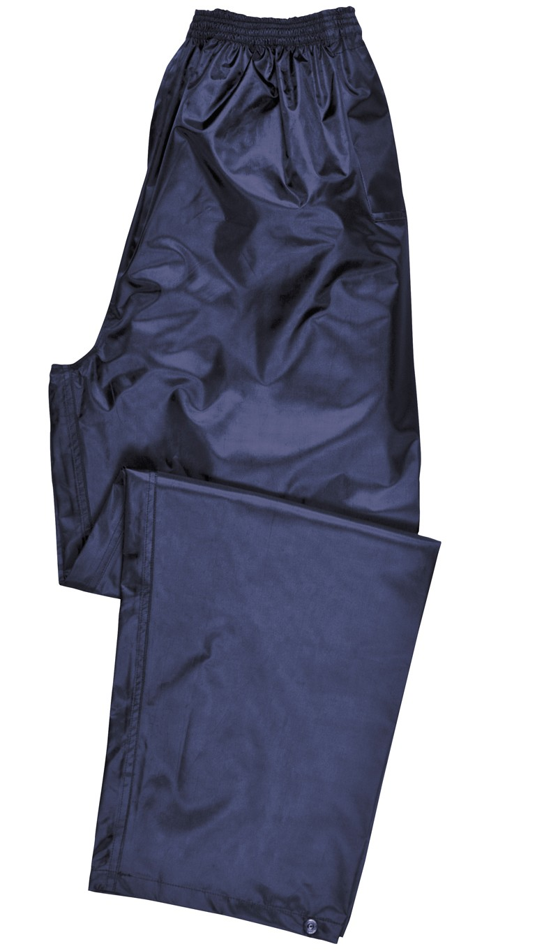 navy Adult Rain Trouser
