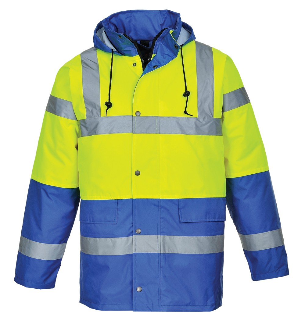 Yellow and blue Hi-Vis Jacket