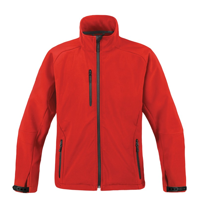 Lightweight sewn waterproof/breathable softshell