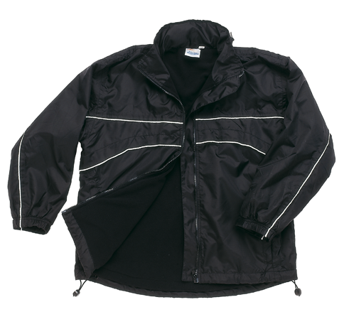 Falcon Fleece Lined Trimmed Rain Jacket T005