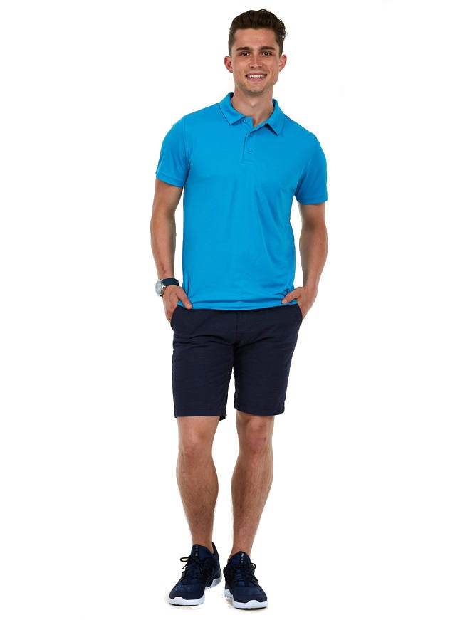 UC125 Mens ultra cool poloshirt