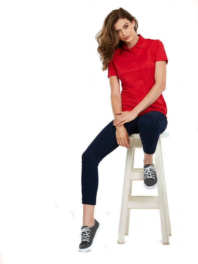 UC128 ladies super cool workwear polo shirt