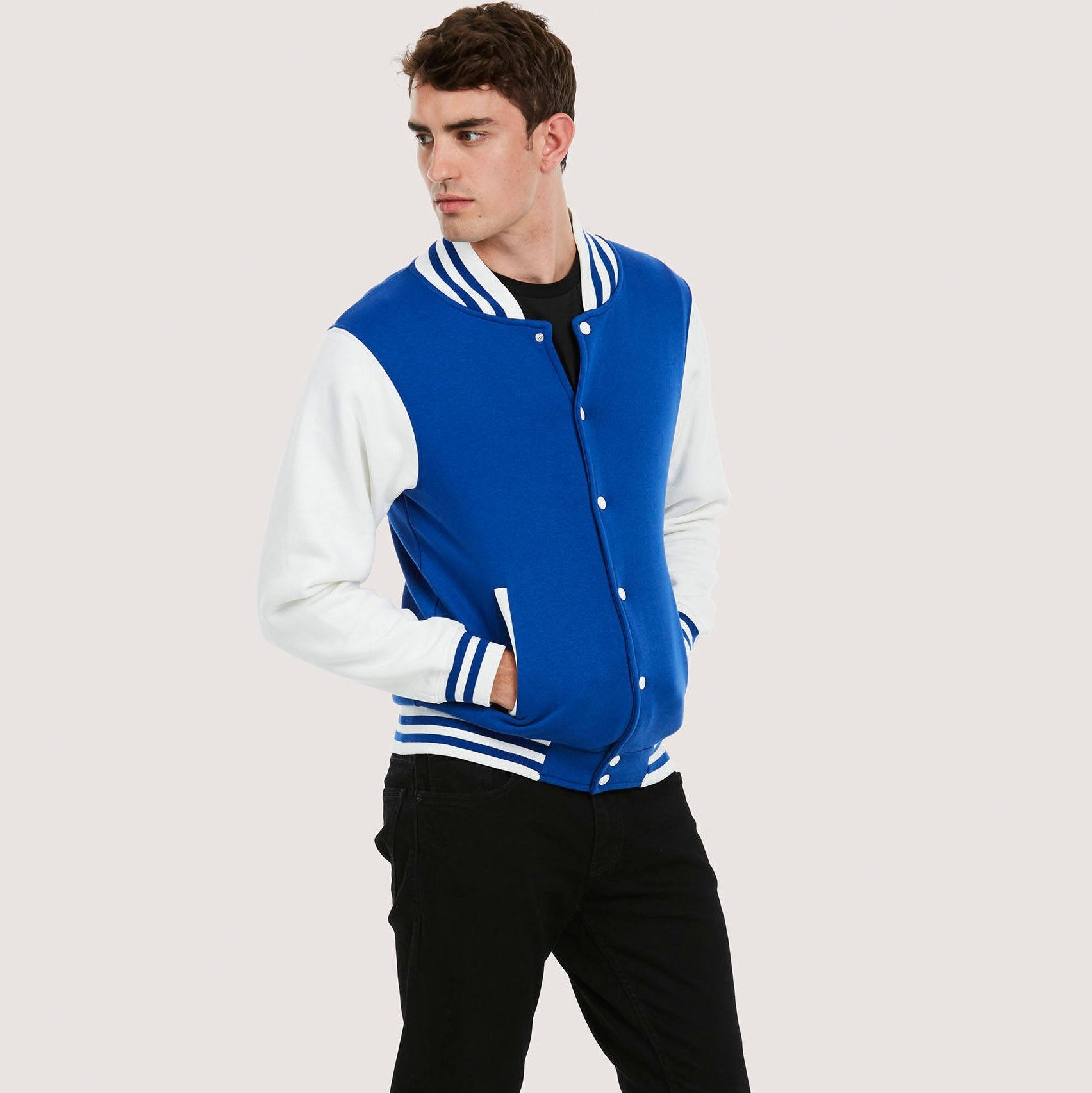 UC525 Mens Varsity Jacket