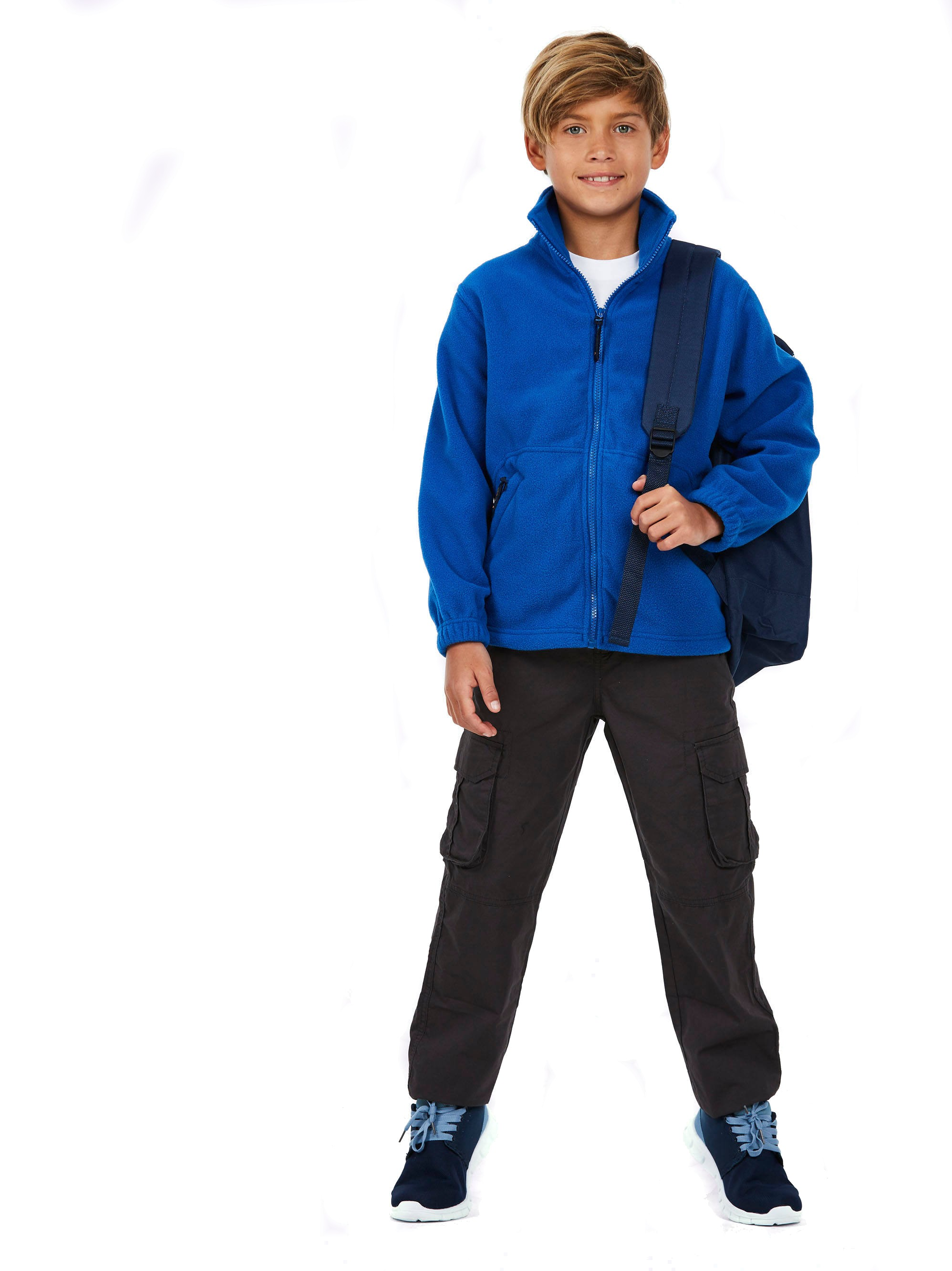 Childrens Full Zip Fleece Jacket UC603