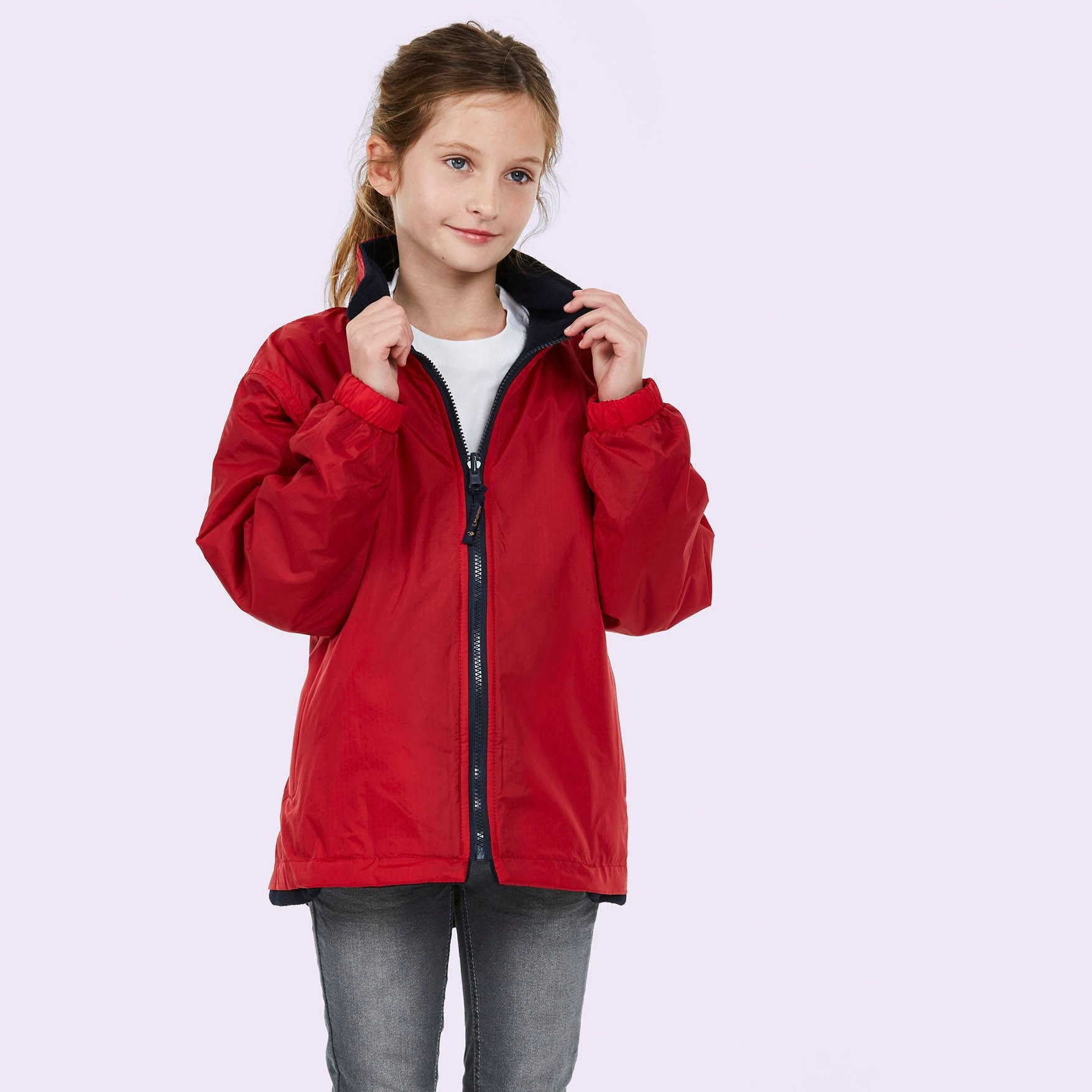 UC606 Childrens Reversible Fleece Jacket