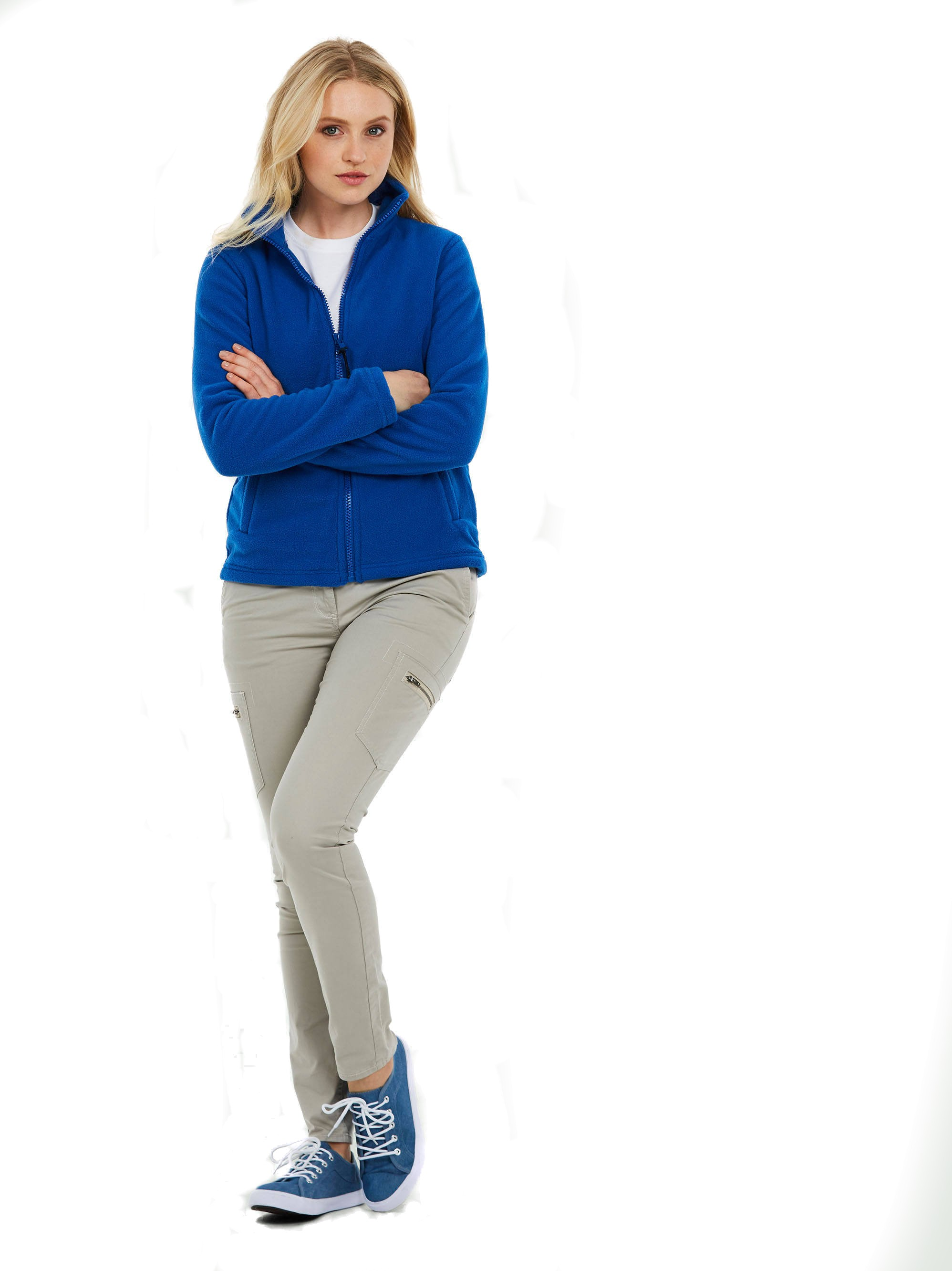Ladies Zip Fleece Jacket UC608