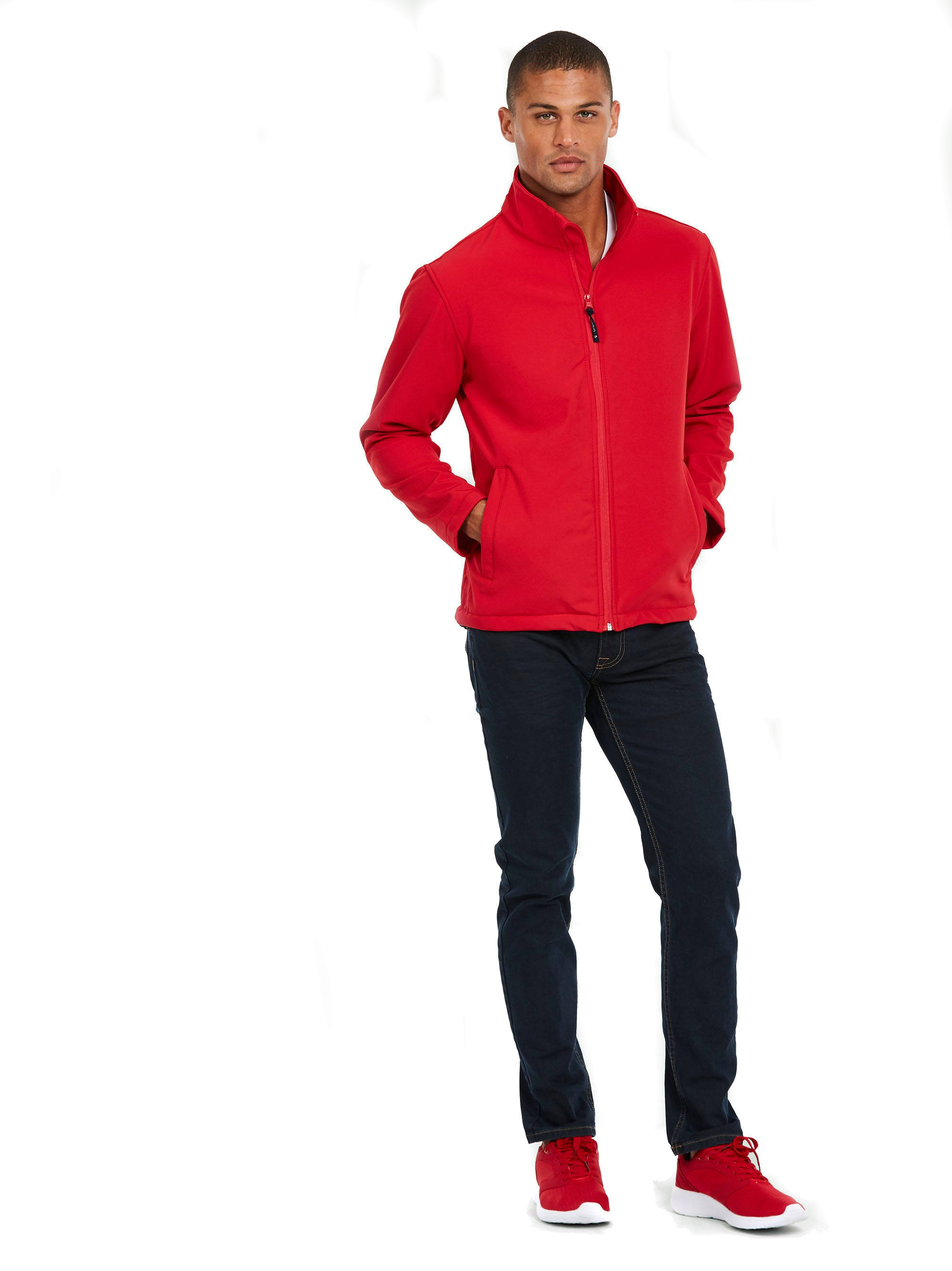 Classic Full Zip Softshell Jacket UC612