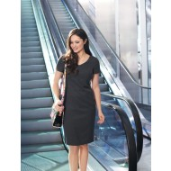 Brook Taverner Corinthia V-neck Dress