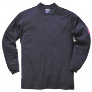 anti-Static L/S Polo Shirt
