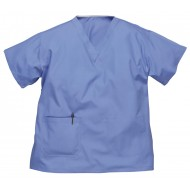 Hospital Blue scrub top