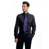 Short business shirt