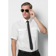 Kustom kit short sleeve pilot shirt KK133