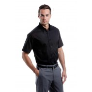 tailored short sleeve oxford shirt