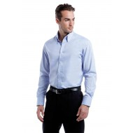 tailored long sleeve oxford shirt