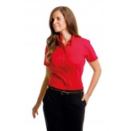 corporate short sleeve blouse