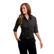 ladies continental 3/4 sleeve blouse