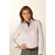 London pinstripe blouse
