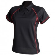 Women's Piped Performance Coolplus Polo