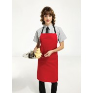 No pockets apron
