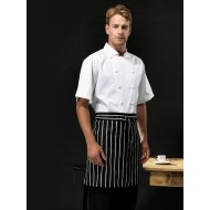 Striped Half Apron