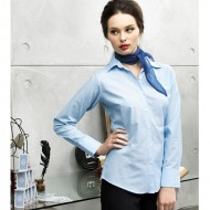 Women's Signature Oxford Long Sleeve Blouse PR334