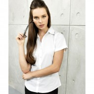 Women's Signature Oxford Short Sleeve Blouse PR336