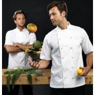 Ambassador Short Sleeve Chef's Jacket PR662