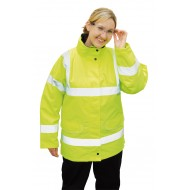 Hi-Vis Ladies Traffic Jacket