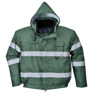 green Lite Bomber Jacket