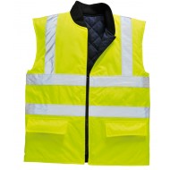 yellow Reversible Bodywarmer