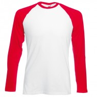 Long sleeve baseball tshirt