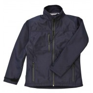 navy ladies softshell