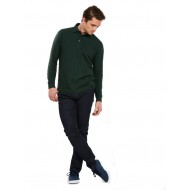 Uneek UC113 Long Sleeve Polo Shirt