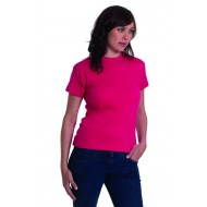 UC303 Ladies Premium Crew Neck Fitted T-Shirt