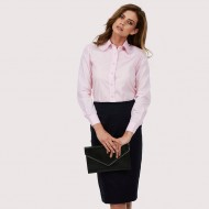 UC711 Ladies Long sleeved poplin blouse