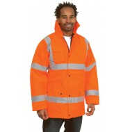 Hi-Vis Traffic Jacket UC803